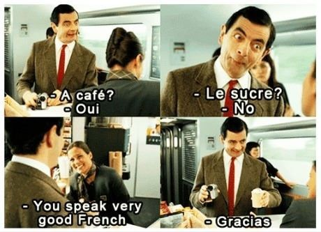 My extent of the French language - Imgur