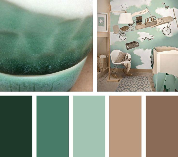 Con un tono verdoso semejante a la esmeralda, una paleta de colorescon personalidad asertiva y notasamaderadas.  EspacioVia: muysencillo.com