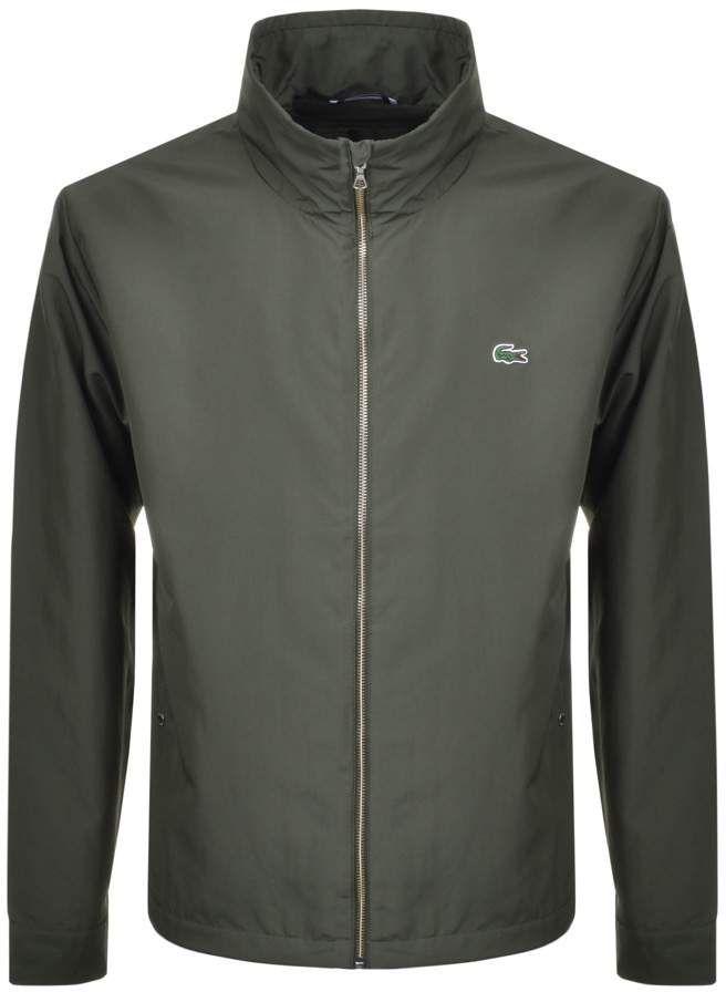 5204db36d3 Lacoste Full Zip Jacket Green £89.10 WAS £180 Veste Verte, Rhodes, Lacoste
