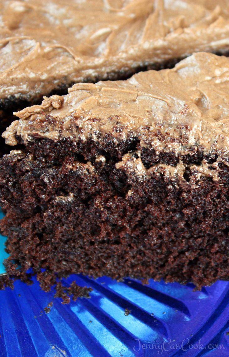 Quick and easy chocolate cake recipe no eggs