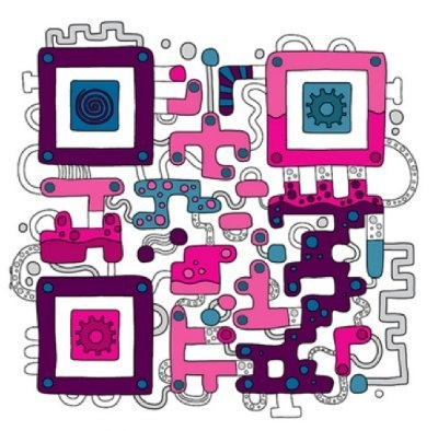 QR code Art by #JESS3
