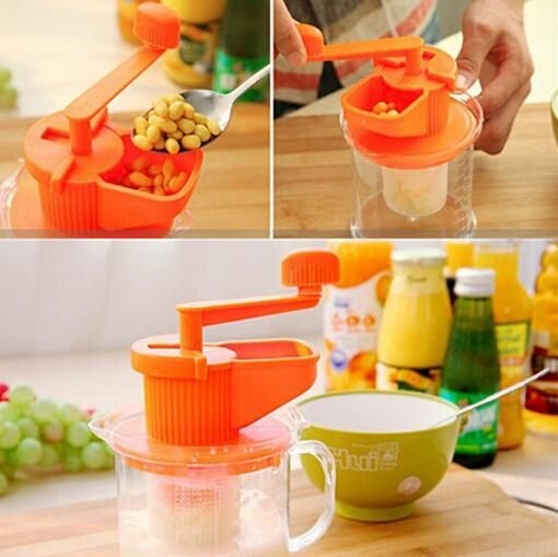 400ml Manual Soymilk maker Cup Juicers Machine High Quality Hand Held Manual Bean Soybean Milk Machine Juice Extractor-in Squeezers & Reamers from Home & Garden on Aliexpress.com | Alibaba Group
