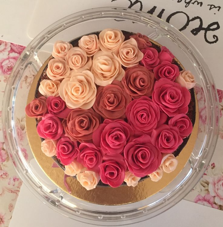 2017/08/02 fondant rose