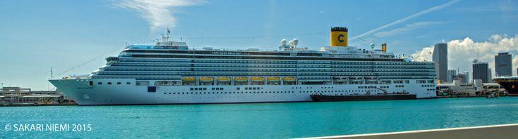 US_150225 Yhdysvallat_0146 Costa Luminosa Miamin satamassa