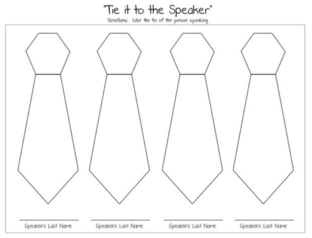 General Conference Tie Coloring Page General Conference