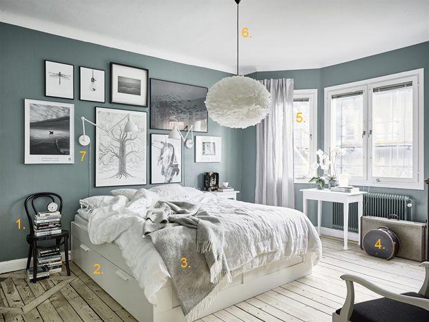 Shop the look: dromerige slaapkamer in Scandinavische stijl - Roomed