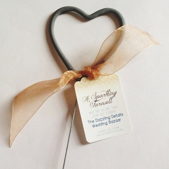 Our new heart shaped sparklers have been designed specifically for weddings and romantic celebrations. The custom designed packaging was created to enhance even the most elegant affair. They can be displayed or handed out as favors. Just as traditional sparklers for weddings are used, these sparklers can also be used to form a passageway or a sparkling tunnel for the couple to pass through while entering or exiting a venue. These are becoming extremely popular just like our wedding…