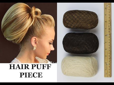 Hair Padding Hair Puff Piece Chignon Insert Volume Front Poof Hairstyle