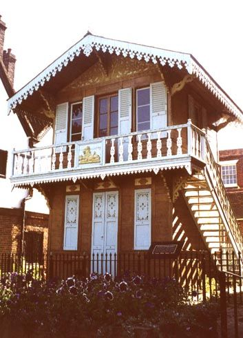 Charles Dickens' Swiss chalet - I want a house like this. SO CUTE.