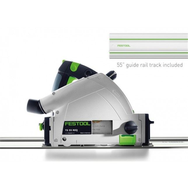 Festool TS 55 REQ Plunge Cut Track Saw. thisiswoodworking.com