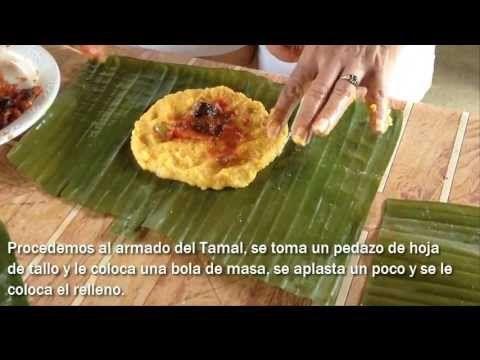 Cómo hacer Tamales Panameños (Tableños)