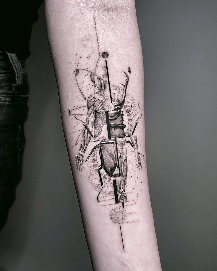 Line Work Tattoo, Line Tattoos, Body Art Tattoos, Sleeve Tattoos, Tattoos For Guys, Cool Forearm Tattoos, Cool Tattoos, Geometric Tattoo Wrist, Tattoo Hamburg