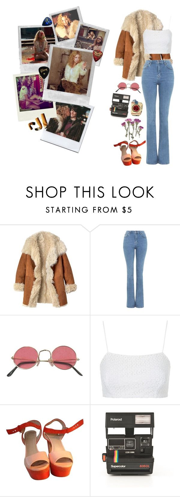 """This is Penny Lane, man. Show some respect"" by mickjaggerr ❤ liked on Polyvore featuring Toast, Almost Famous, Topshop, Oui, Polaroid, music, movie, 70s, almostfamous and pennylane"