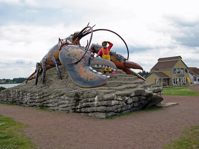 World's Largest Lobster    Shediac, New Brunswick
