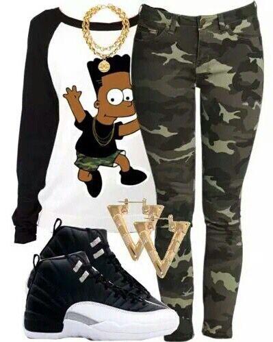Camo Pants and Jordan's