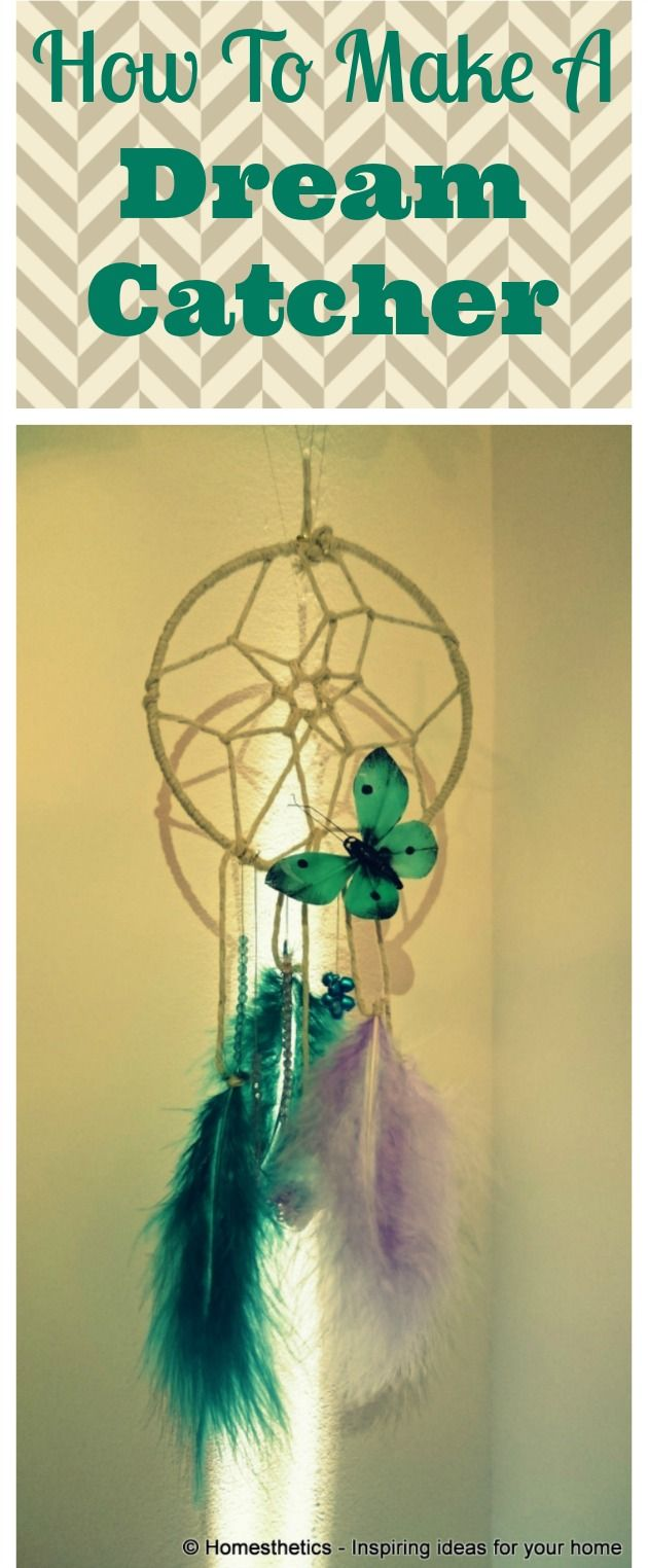 How to make a dream catcher in 3 simple steps catcher for Dream catchers how to make them