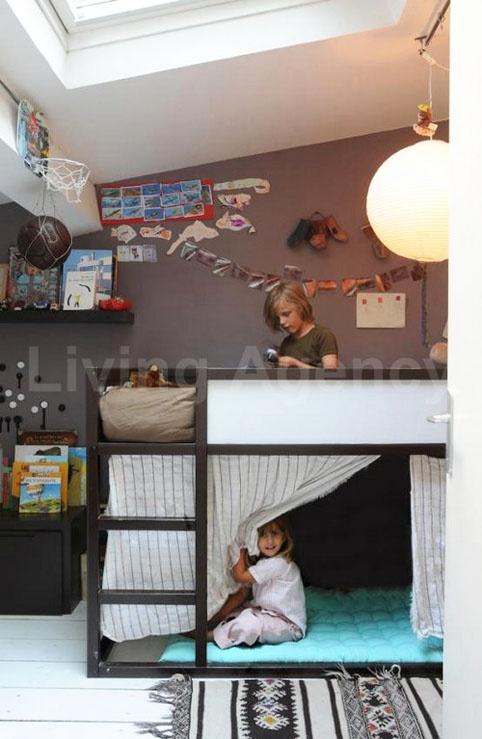 Tiny Box Room Ikea Stuva Loft Bed Making The Most Of: 40 Best Ikea Kura Bed Ideas Images On Pinterest