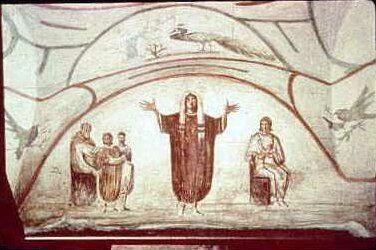Orante - Catacombe di Priscilla, Roma