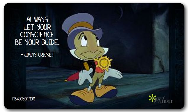 Blinggo Always let your conscience be your guide Pinocchio ...