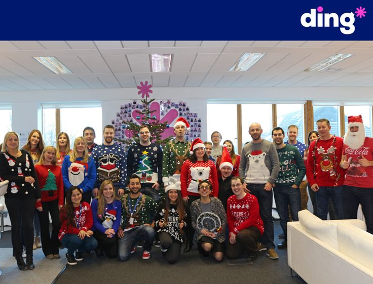 Its beginning to look alot like #Christmas here at ding* HQ! Our team wore a selection of Christmas jumpers in aid of the Dublin Simon Community! We are delighted to be supporting such a wonderful cause! www.ding.com