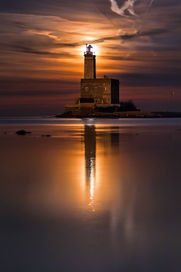 Lighthouse in Olbia - Sardinia - Italy - by Fabio Serra on 500px