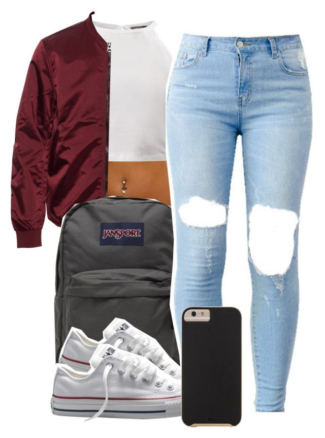 """""""2:26:15"""" by codeineweeknds ❤ liked on Polyvore featuring moda, Acne Studios, JanSport, Converse y Case-Mate"""
