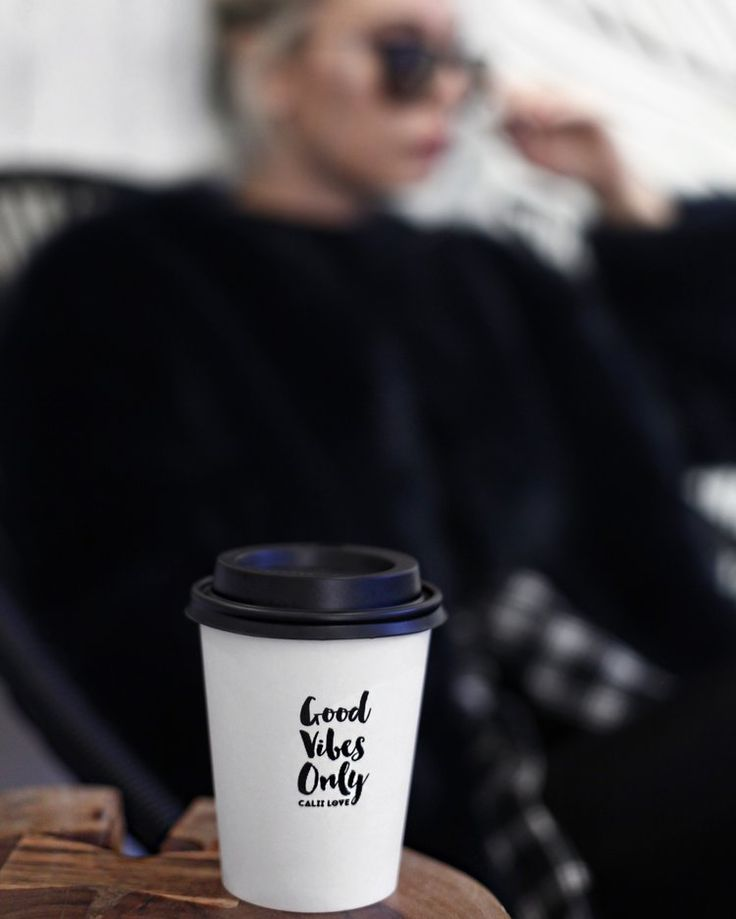 Calii Love — Double Tee's #goodvibesonly coffee cup www.double-tees.com