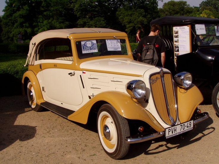 1934 Praga Super Piccolo serie 2I-II kabriolet - Kellner