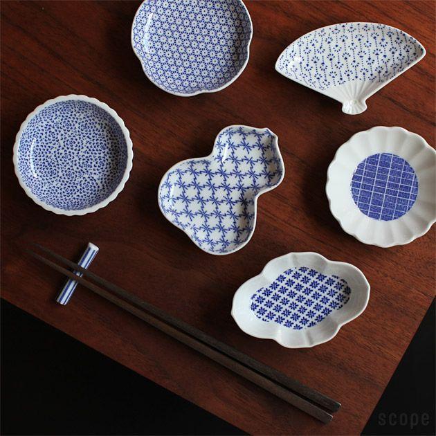 東屋 (あづまや) /  印判豆皿