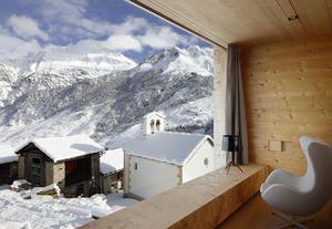 Le case in legno di Peter Zumthor