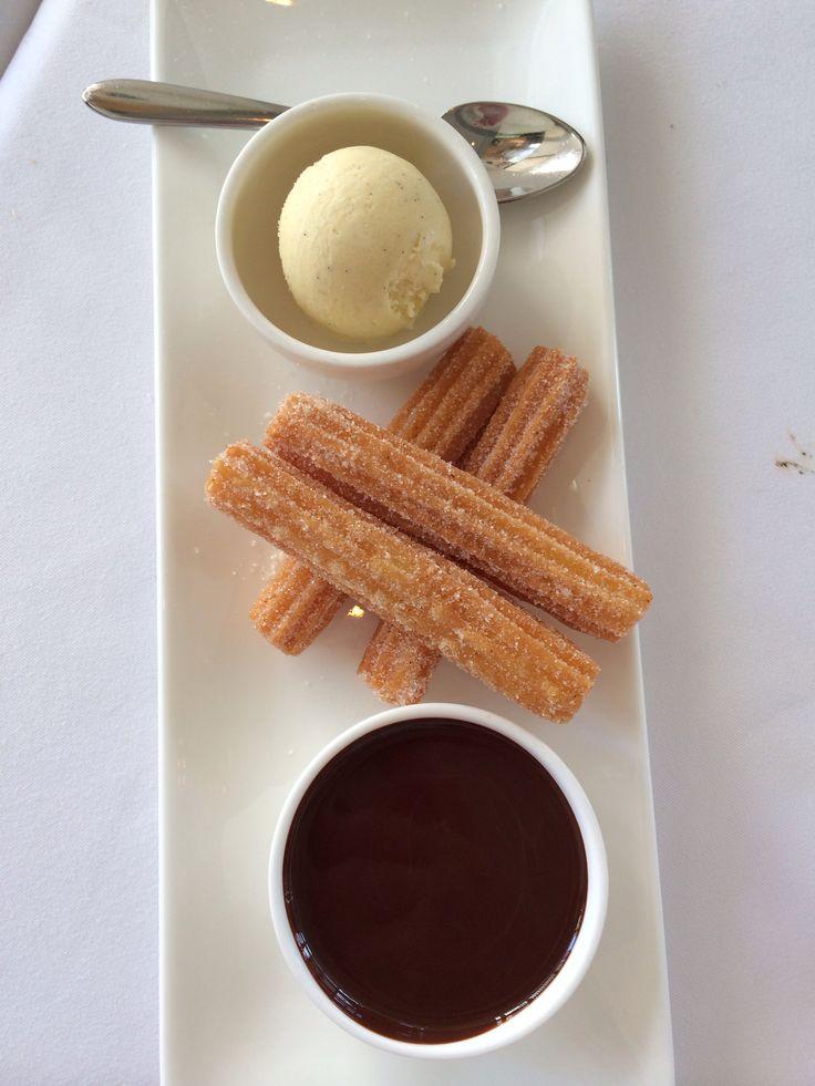 Churro Chocolate Ice Cream