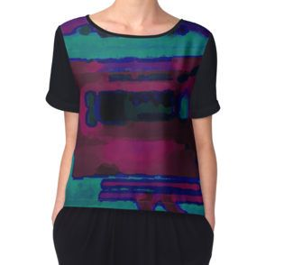 Into The Dark Women's Chiffon Top available at http://www.redbubble.com/people/chrisjoy/works/880927-into-the-dark