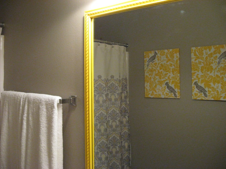 Yellow Grey Bathroom Part 81