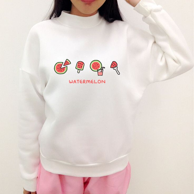 S 3XL Watermelon Tea Party Jumper Sweater SP167804