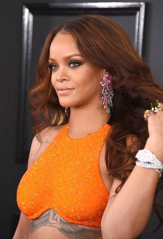 Rihanna has designed jewelry for Chopard  Go to our website for more photos