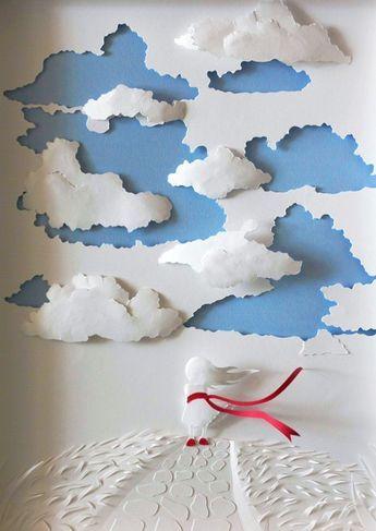 Paper Cut Art par Marina Adamova - Journal du Design