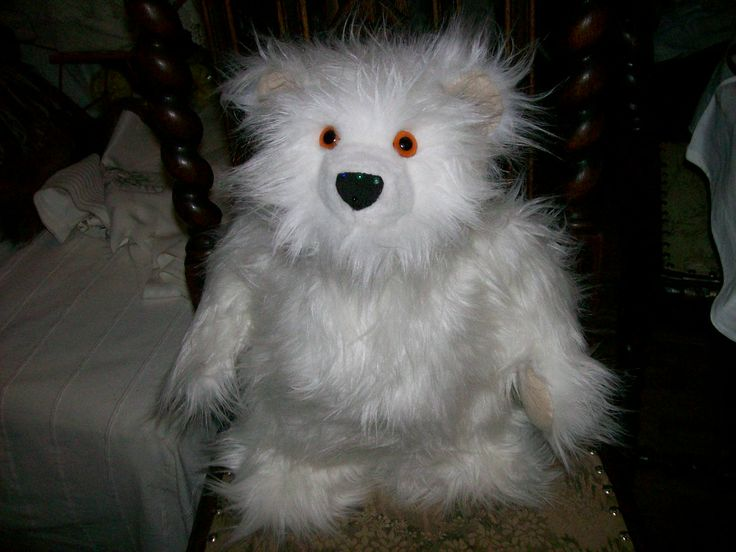 Medvídek sněhulák