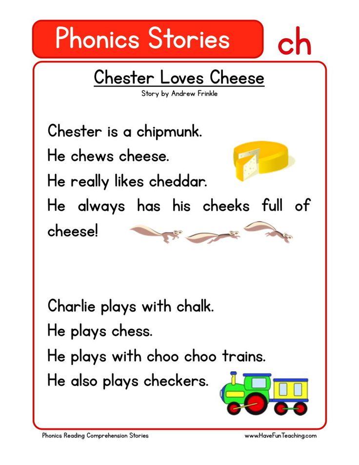 Reading Prehension Worksheet Chester Loves Cheese