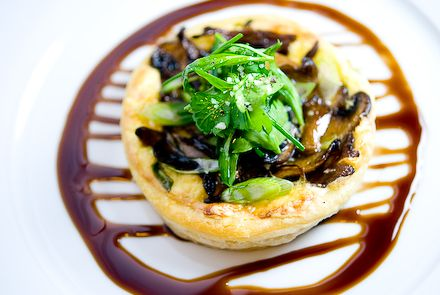 CHRISTMAS DINNER RECIPES | Christmas Dinner Recipe - Mushroom Tart ...