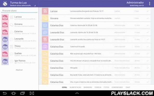 Messenger Escola Em Movimento  Android App - playslack.com , Messenger Escola em MovimentoPara as escolas que adotaram o produto Escola em Movimento, esse aplicativo é voltado para professores, coordenadores e diretores para o envio de mensagens de todos os tipos a partir de um Tablet Android.Com o Escola em Movimento, você tem disponível:- Envio de comunicados por texto- Envio de fotos com comentários- Envio de notificação de soneca- Envio de notificação de uso do banheiro- Envio de…