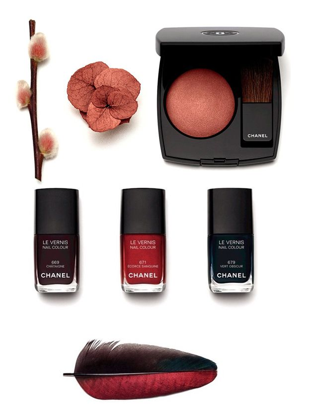 Chanel Les Automnales Makeup Collection for Autumn 2015 | MakeUp4All