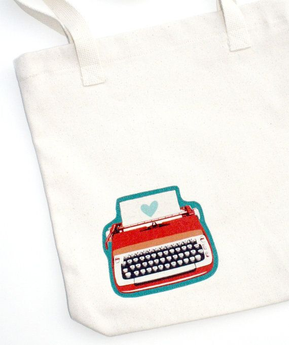 Typewriter Tote ($22) — gifts for writers