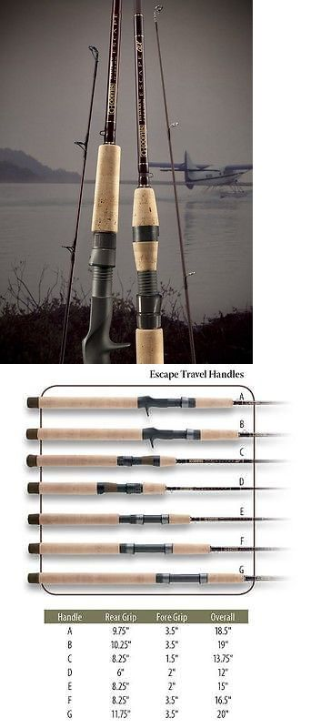 Travel Rods 179949: G. Loomis Escape Series Travel Fishing Rod Etr84-3 Ls-6 -> BUY IT NOW ONLY: $350 on eBay!
