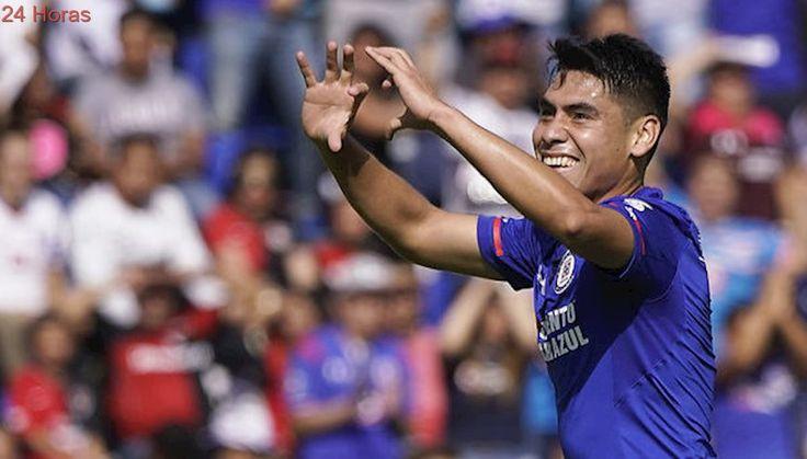 Felipe Mora marcó su tercer gol en México en triunfo de Cruz Azul ante Atlas