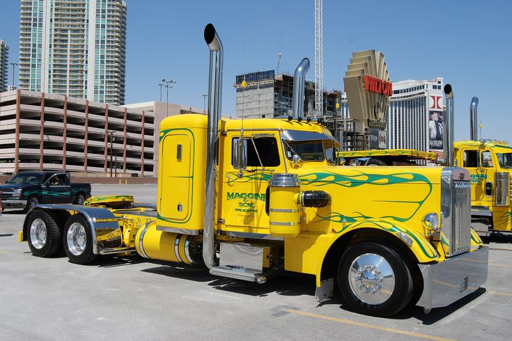 Big Rig Summer : Best ideas about custom big rigs on pinterest semi