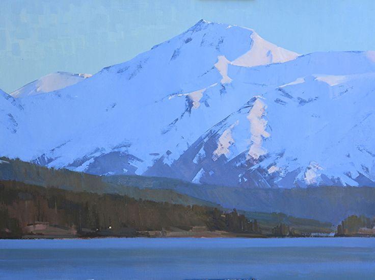"""Alaska by Robert Lemler Oil ~ 30"""" x 40"""""""