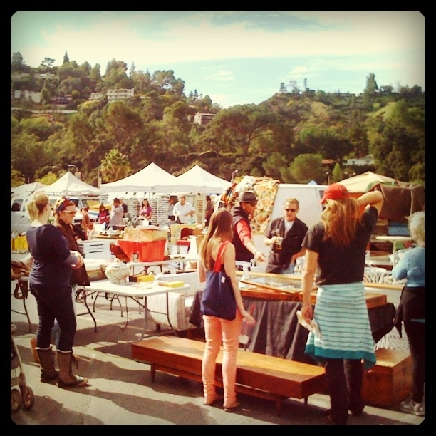 Rose Bowl swap meet - second Sunday of every month