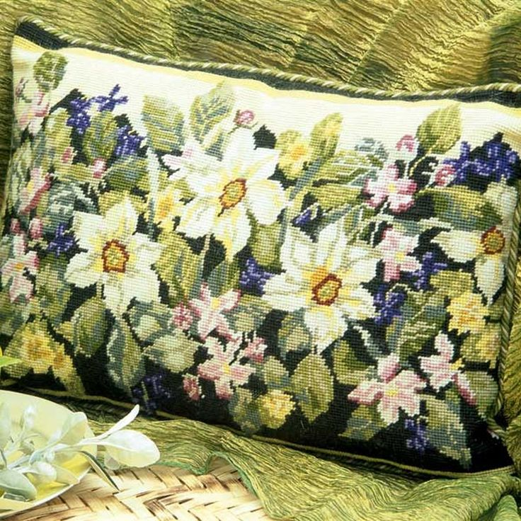 Spring by Margaret Murton, Ehrman Wools, http://www.ehrmantapestry.com/Products/Spring__SP.aspx#.UUOfPVeZFLo