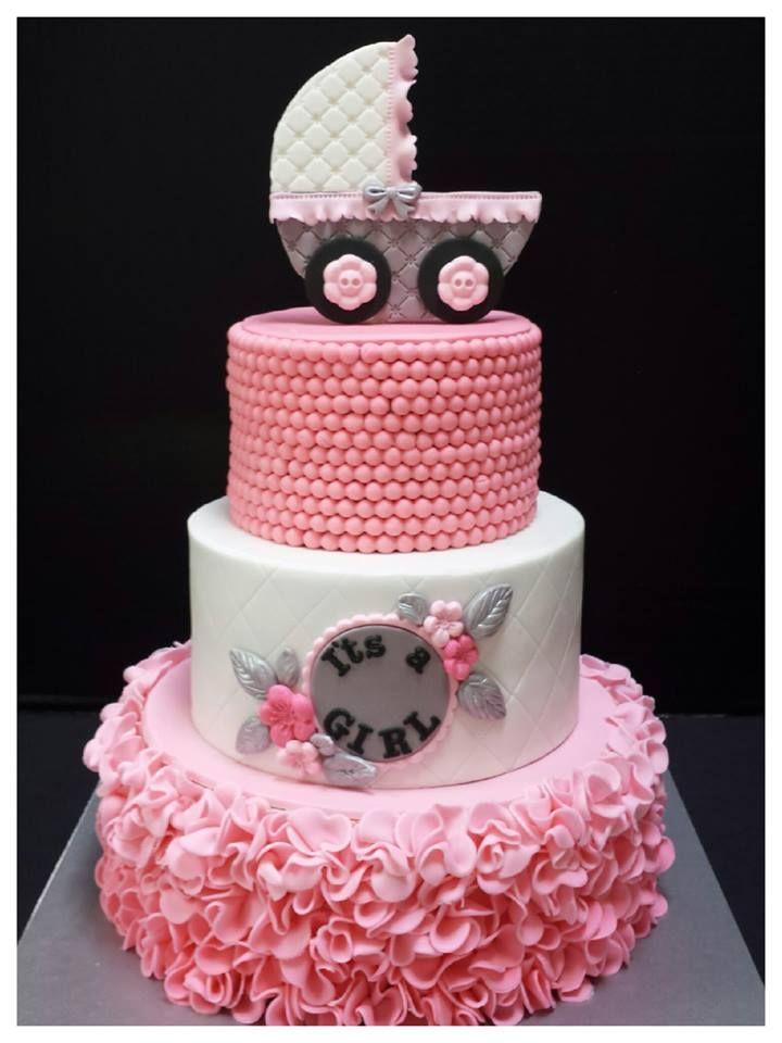 Awesome Baby Girl · Girl Shower CakeBaby ...