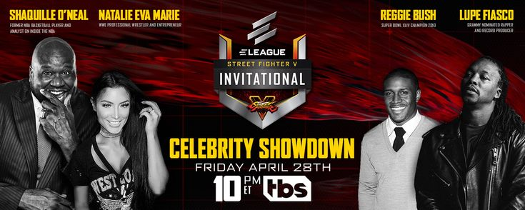 Eleague Street Fighter V Celebrity Showdown Is Ramping Up The Hype Machine In A New Teaser
